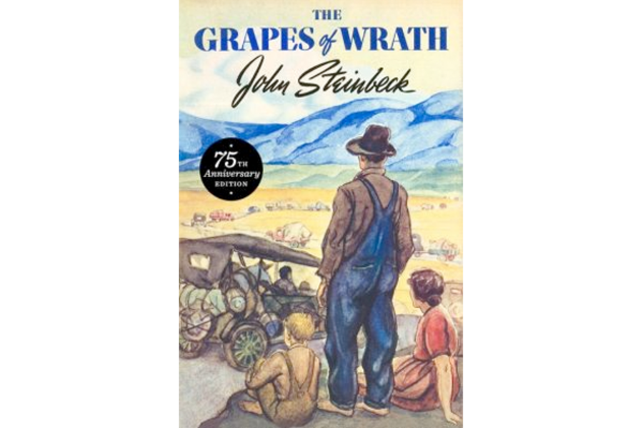 What is the purpose of the novel 'The Grapes Of Wrath'?