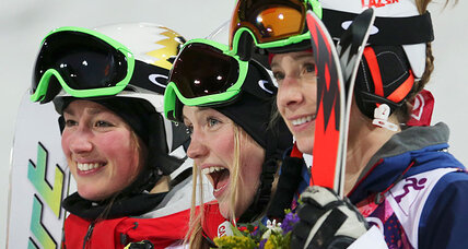 Hannah Kearney takes bronze on Sochi moguls