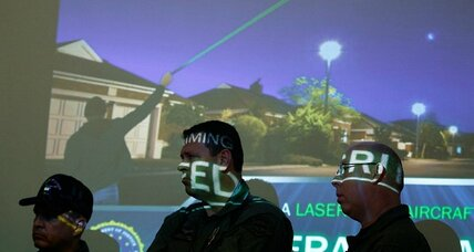 FBI targets soaring number of laser attacks on aircraft