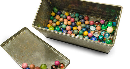 Anne Frank: Her lost marbles have been found