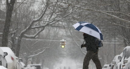 Storm delivers another bout of snow and icy roads to winter-weary Northeast (+video)