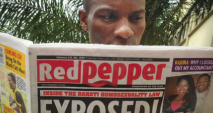 Ugandan tabloid prints list of alleged homosexuals