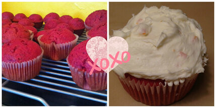 My heart beets for you: Red velvet cupcakes for Valentine's Day