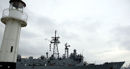 Navy ship runs aground in Black Sea. Now what?