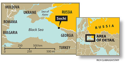 Where's Sochi? Why are the Winter Olympics there? (+video)