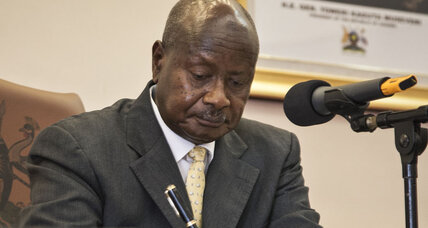 Uganda's president signs new anti-gay law