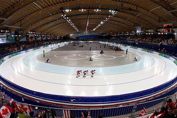 Team Canada Skates In The Richmond Olympic Oval At Vancouver 2010 Olympics Feb 26 Unlike Most Former Host Cities Has Kept