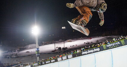 Danny Davis faces the Olympic halfpipe with 'no expectations'