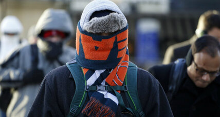 Chicago deep freeze: cold, colder, coldest (+video)