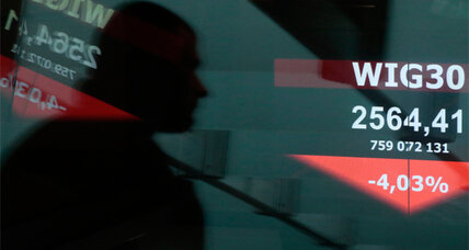 Ukraine unrest upsets stock markets