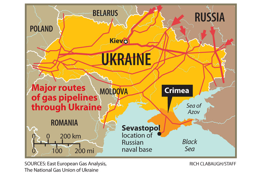 Ukraine Natural Gas Crisis