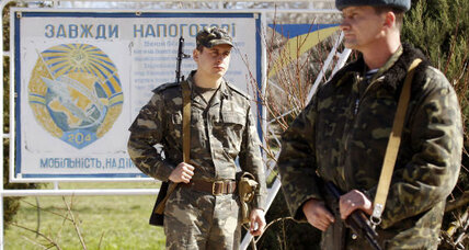 Putin tightens grip over Crimea as Ukraine conflict hits Russian markets
