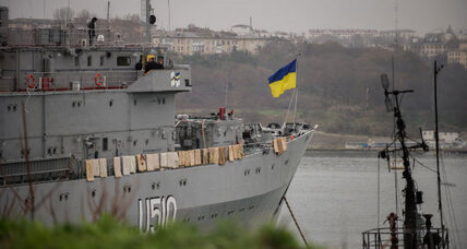 Ukraine loses its hold on Crimea. What does Russia gain?
