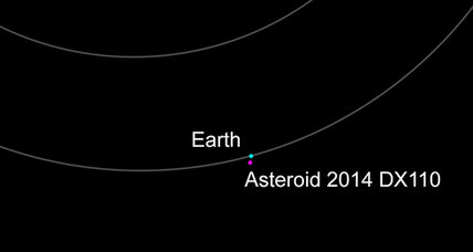 Not-in-the-slightest-bit-threatening asteroid to hurtle past Earth