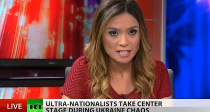 Liz Wahl: Russia Today anchor quits on air as cold war rhetoric heats up (+video)