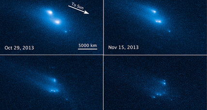 Hubble telescope spots disintegrating asteroid