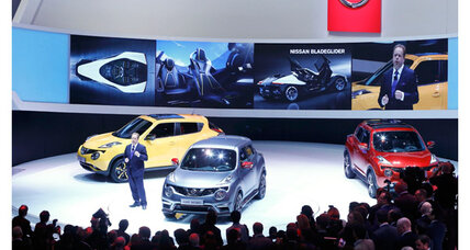 Nissan Altima? So last year. In Geneva, Nissan shows off 2015 Juke