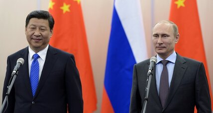 China to Russia: You're putting us in a tight spot