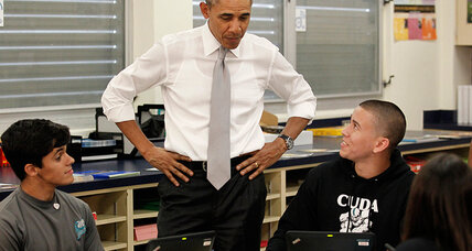Obama, touting a college education, urges seniors: fill out financial aid form