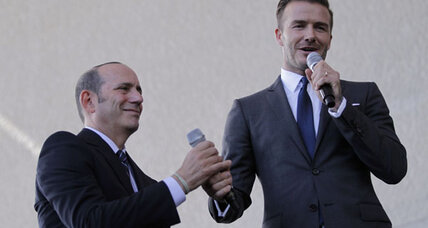 Jaguar hires Beckham to help sell cars in China