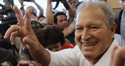 Former Marxist guerrilla favored in El Salvador's presidential runoff