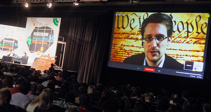 Snowden: His NSA leaks leave world 'in a more secure place' (+video)