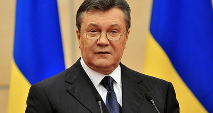 Ukraine's deposed leader speaks. Is anyone listening?