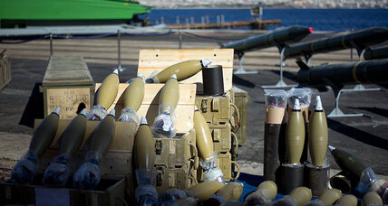 Syria's secretive rocket industry spotlighted by Israeli weapons seizure