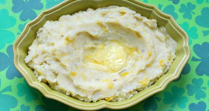St. Patrick's Day: Colcannon (Irish mashed potatoes and cabbage)