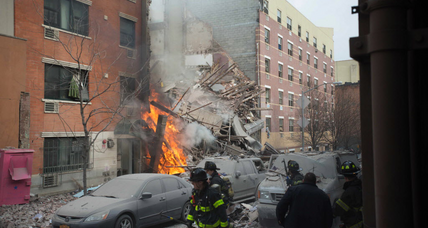 Deadly building explosion puts focus on NYC's aging infrastructure