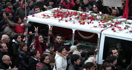 In Turkey, teen's funeral becomes latest spark for antigovernment protests (+video)