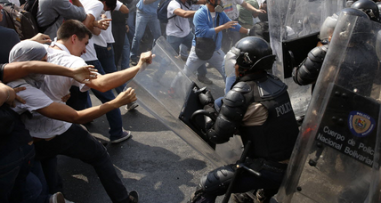 Venezuela: As protests grow more violent, should neighbors weigh in? (+video)