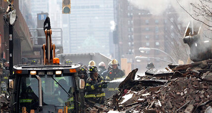 N.Y. building collapse: Feds probe responsiveness of gas company (+video)
