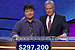 Alex Trebek bids adieu to 12-day champ Chu