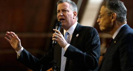 In clashes with Cuomo, de Blasio taken to school on pre-K, charters