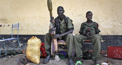 Young men and guns: Why South Sudan's war flamed so fast and brightly (+video)