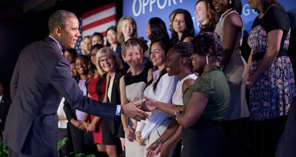 Obama pushes help for working women: How much do they need it? (+video)