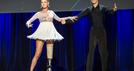 Adrianne Haslet-Davis, Boston bombing survivor, dances again