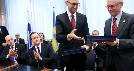 Ukraine finally signs the EU deal that started it all