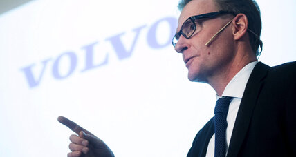 Volvo's car-to-car communications test starts in Scandinavia