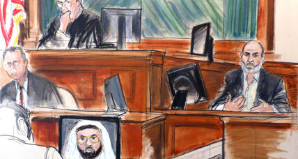 Trial of Osama bin Laden's son-in-law 'uneventful.' Why that's a big deal. (+video)