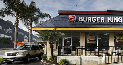 Facing falling sales, fast food turns to mobile payments