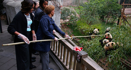 Michelle Obama in China: first ladies and panda diplomacy (+video)