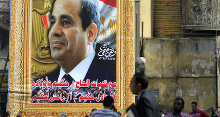Egypt's Sisi faces formidable task in presidential run