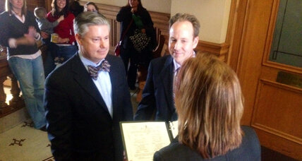 Mich. same-sex marriages 'legal but not recognized.' How did that happen? (+video)