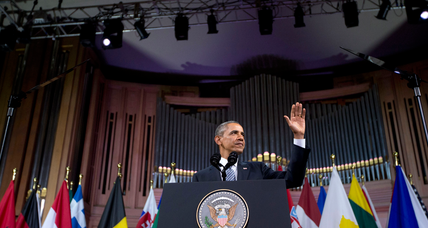 Obama: Belligerent Russia poses 'testing' moment for Europe, US (+video)