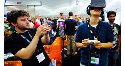 Oculus Rift and Facebook: Virtual reality meets social networks