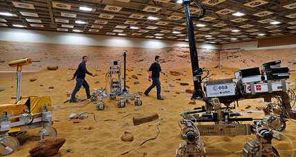 European scientists build proving ground for Mars rovers