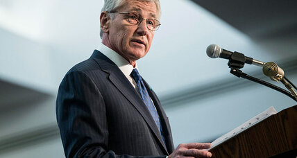Cyber-security: Hagel, at NSA headquarters, promises more transparency