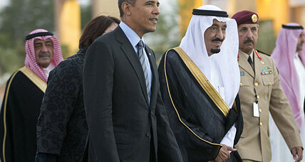 Obama meets with Saudi king. Could they counter Russia with oil?